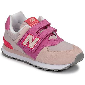 Zapatos Niña Zapatillas bajas New Balance 574 Rosa / Violeta