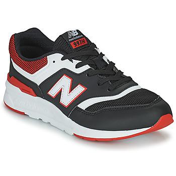 Zapatos Niño Zapatillas bajas New Balance 997 Negro / Rojo