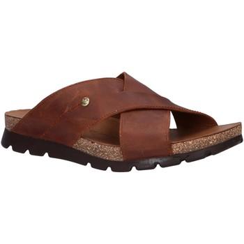 Zapatos Hombre Zuecos (Mules) Panama Jack SALMAN BASICS C1 Marr?n
