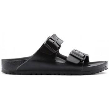 Zapatos Mujer Zuecos (Mules) Birkenstock SANDALIA  ARIZONA Negro