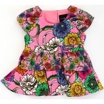 textil Niña Vestidos cortos John Richmond RIP21030VE Rosa