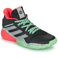 Zapatos Baloncesto adidas Performance HARDEN STEPBACK Negro / Gris / Verde