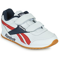 Zapatos Niños Zapatillas bajas Reebok Classic REEBOK ROYAL CLJOG 2 2V Blanco / Marino / Rojo