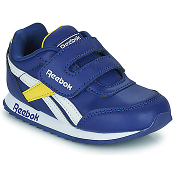 Zapatos Niños Zapatillas bajas Reebok Classic REEBOK ROYAL CLJOG 2  KC Azul / Amarillo / Blanco