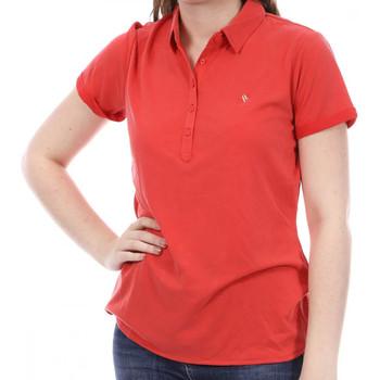textil Mujer Polos manga corta Sun Valley  Rojo