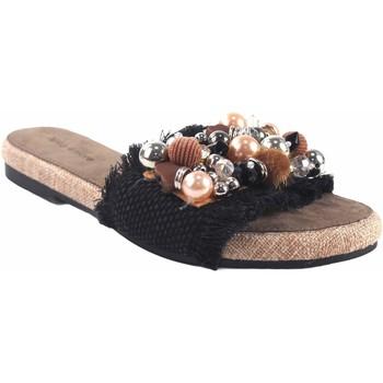 Zapatos Mujer Zuecos (Mules) Olivina Sandalia señora BEBY 19059 negro Negro