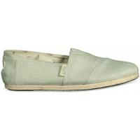 Zapatos Mujer Alpargatas Paez Original Raw W Verde