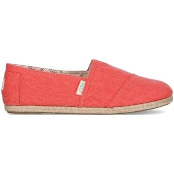 Zapatos Mujer Alpargatas Paez Original Classic W Rojo