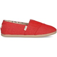 Zapatos Mujer Alpargatas Paez Original Raw W Rojo