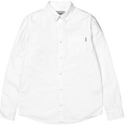 textil Hombre Camisas manga larga Carhartt LS Button Down Pocket Shirt Blanco