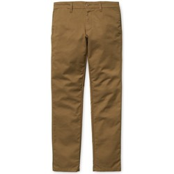 textil Hombre Pantalones chinos Carhartt Sid Pant Lamar Marrón