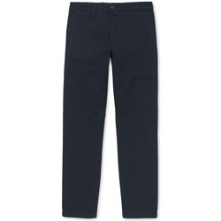 textil Hombre Pantalones chinos Carhartt Sid Pant Lamar Azul