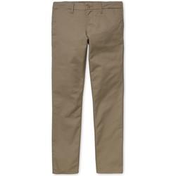 textil Hombre Pantalones chinos Carhartt Sid Pant Lamar Beige