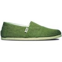 Zapatos Hombre Alpargatas Paez Original Raw M Verde