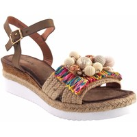 Zapatos Mujer Sandalias Olivina Sandalia señora BEBY 19050 beig Marrón