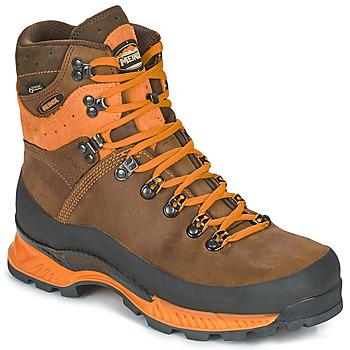 Zapatos Hombre Senderismo Meindl ISLAND MFS ROCK Oscuro / Naranja