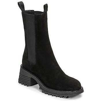 Zapatos Mujer Botines Mimmu CAMOSCIO Negro