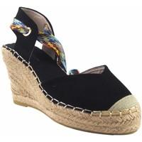 Zapatos Mujer Alpargatas Olivina Zapato señora BEBY 19070 negro Negro