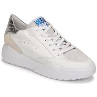 Zapatos Mujer Zapatillas bajas Semerdjian TANY Blanco / Plata