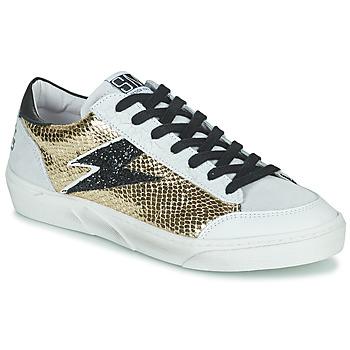 Zapatos Mujer Zapatillas bajas Semerdjian ELISE Beige / Oro / Negro