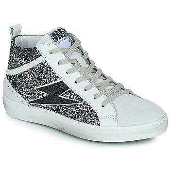Zapatos Mujer Zapatillas altas Semerdjian ALFA Beige / Negro