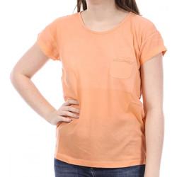 textil Mujer Camisetas manga corta Sun Valley  Naranja