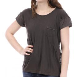 textil Mujer Camisetas manga corta Sun Valley  Marrón