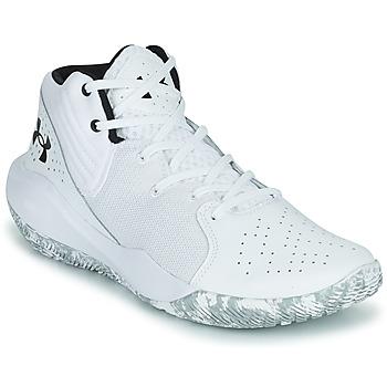 Zapatos Hombre Baloncesto Under Armour JET '21 Blanco / Blanco