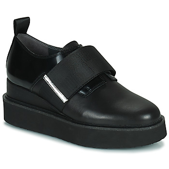 Zapatos Mujer Derbie United nude JUKO RUN Negro