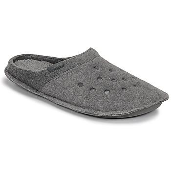 Zapatos Pantuflas Crocs CLASSIC SLIPPER Gris