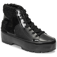 Zapatos Mujer Botas de caña baja Melissa MELISSA FLUFFY SNEAKER AD Negro
