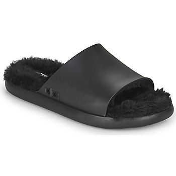 Zapatos Mujer Chanclas Melissa MELISSA FLUFFY SIDE AD Negro