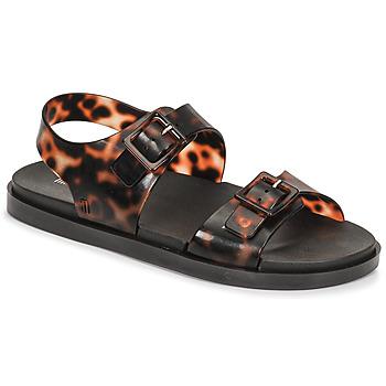Zapatos Mujer Sandalias Melissa MELISSA WIDE SANDAL AD Marrón / Negro