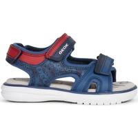Zapatos Niño Zapatos para el agua Geox - Sandalo blu/rosso J15DRB-C4244 BLU-ROSSO