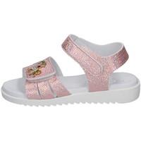 Zapatos Niña Sandalias Lelli Kelly - Sandalo rosa/arg LK 1506 ROSA-ARGENTO