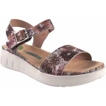 Zapatos Mujer Sandalias Amarpies Sandalia señora  19063 abz beig Blanco