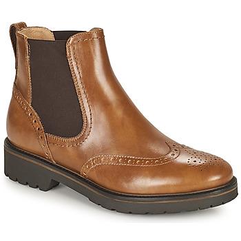 Zapatos Mujer Botas de caña baja NeroGiardini ARTICHO Cognac