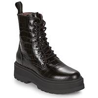 Zapatos Mujer Botas de caña baja NeroGiardini CATALONIO Negro