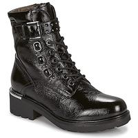 Zapatos Mujer Botas de caña baja NeroGiardini CONCOMBRO Negro
