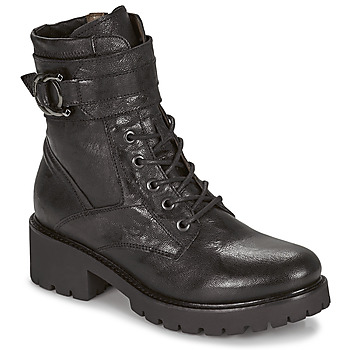 Zapatos Mujer Botas de caña baja NeroGiardini COURGETTO Negro