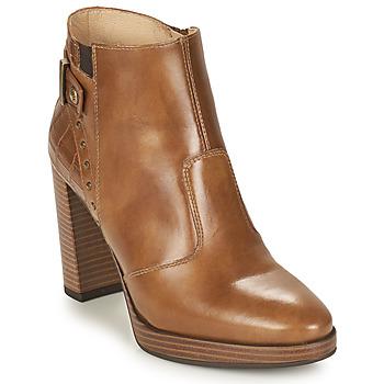 Zapatos Mujer Botines NeroGiardini DAIKONO Cognac