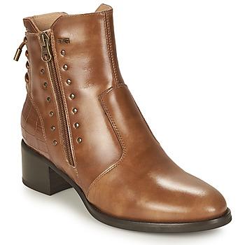 Zapatos Mujer Botines NeroGiardini ENDIVO Cognac