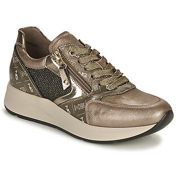 Zapatos Mujer Zapatillas bajas NeroGiardini GIROMONO Oro