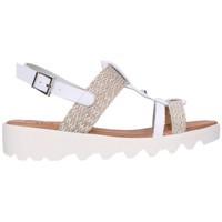 Zapatos Mujer Sandalias Valeria's 7141 Mujer Blanco blanc