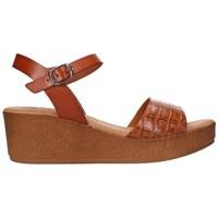 Zapatos Mujer Sandalias Lola Rico 913 Mujer Cuero marron