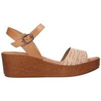 Zapatos Mujer Sandalias Lola Rico 913 Mujer Beige beige
