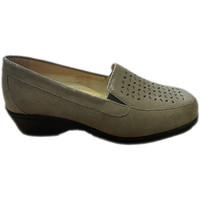 Zapatos Mujer Mocasín Calzaturificio Loren LOK4013ta tortora