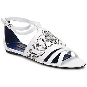 Zapatos Mujer Sandalias Roberto Cavalli TPS918 Blanco