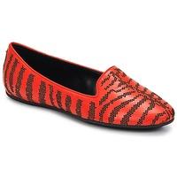 Zapatos Mujer Mocasín Roberto Cavalli TPS648 Rojo