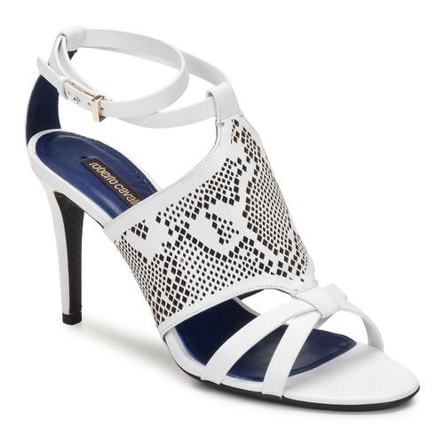 Zapatos Mujer Sandalias Roberto Cavalli TPS016 Blanco